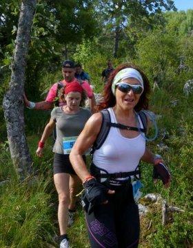 On était au Trail des Monts d'Azur 2014 (Séranon - 06) – avec Sylvie Carmino