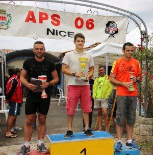 La Ronde de Thiery 2014 - Podium Senior pour Sebastien Bertoni