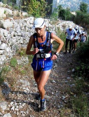 Course des Cimes du Mercantour 2014 (Auron)  – Nathalie Saupagna 2ème Féminine