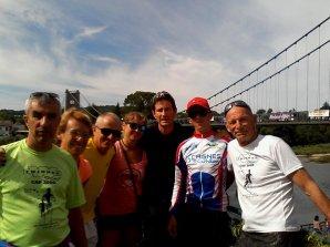 L'ASPTT Nice Athlétisme au Triathlon des Gorges de l'Ardèche 2014