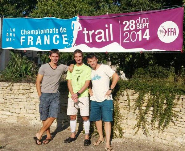 Championnats de France de Trail 2014 – Fred Gayol dans l'Elite nationale de Trail Court