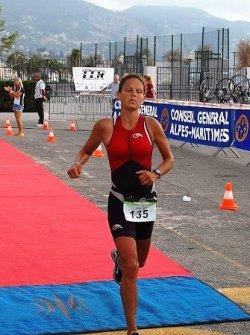 Triathlon de Roquebrune 2014 – Victoire Féminine de Marylène Draillard .  .  .  .  . . Triathlon du Verdon 2014