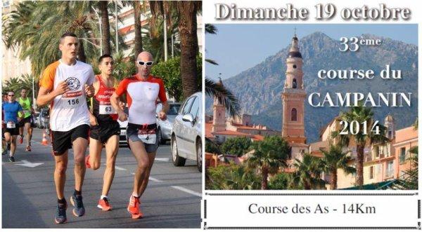 Course du Campanin 2014 (Menton) – Maximillien Maccio 5ème et 1er V1