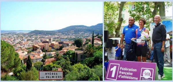 Aviva Trail de Hyères 2014 – Podium pour Jany Nosmas