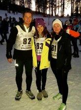 L'ASPTT Nice au Snow Trail de Valberg 2015