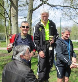 12 km Nature de Verneuil-sur-Seine (78) - Podium V3 pour Bernard Lefevre