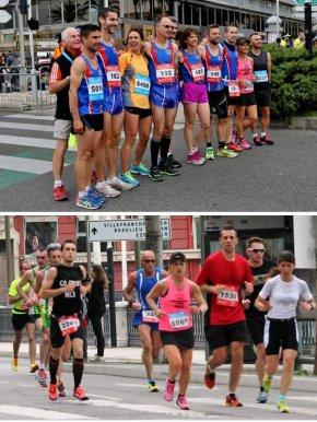 10 Km de Nice 2015 – Arnaud Folco dans le Top 10, Michele Simoncelli en tête des V2F