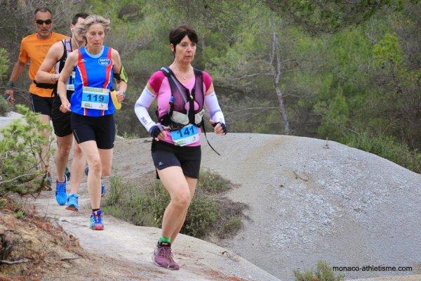 Trail des Limaces 2015 (Blausasc) – Olivier 3ème sur 25 km, Véronique 2ème sur 15 km, Michèle 1ère sur 7 km… et 5 podiums en catégories d'âge