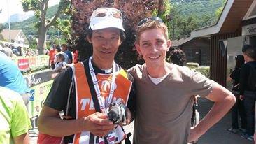 Les traileurs niçois à la Maxi-Race d'Annecy