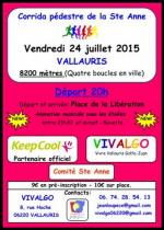 Corrida de la Sainte Anne 2015 (Vallauris) - La Victoire pour Guillaume Abry