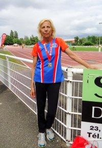 Mondiaux d'Athlétisme Masters 2015 - Yolande Marchal remporte le titre sur 800 m