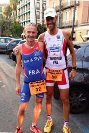 L'ASPTT Nice aux 7 km de Bordighera 2015 - Maximilien Maccio 2ème scratch