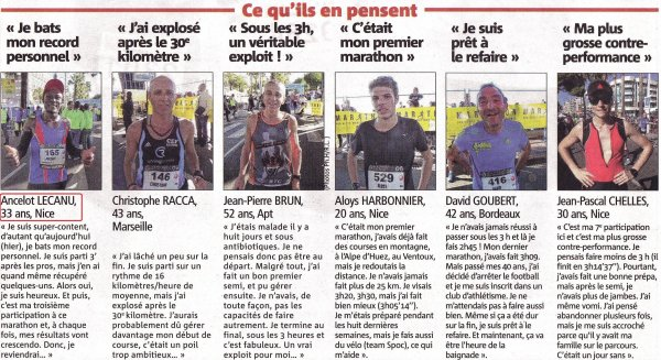 Le marathon en vedette entre Nice et Cannes