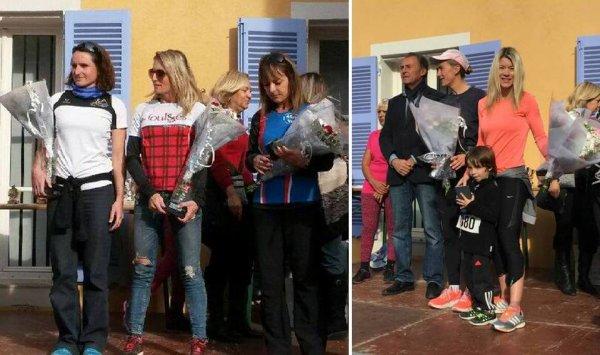 Corrida de Villeneuve Loubet - Turquoise, Michele et Alexandrine aux avant-postes !