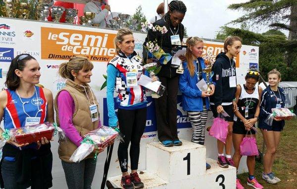 L'ASPTT Nice Athlétisme à l'honneur au Cross des Iles (Cannes)