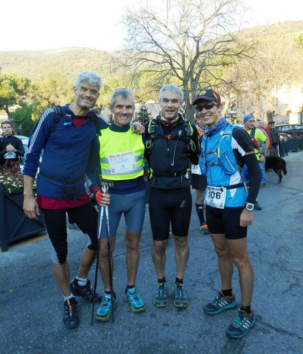 Succès du 1er Trail de Tourrettes-sur-Loup - Podiums pour Laurent, Jany et Sylvie