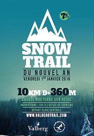 Snow Trail de Valberg 2016 – Turquoise 2ème Féminine, Charly 2ème V1 (6ème scratch)