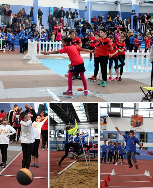 Le « Kids Athletics » 2016 de l'ASPTT Nice
