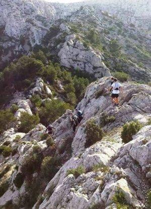 "L'ASPTT Nice à ""L'Alpin Trail des Calanques"" 2016 (Marseille)"