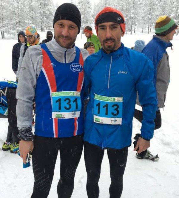 De la fraîche pour le plus grand bonheur des traileurs des neiges à Castérino
