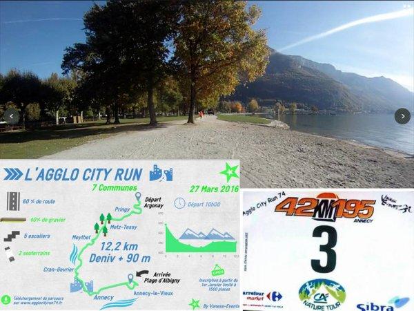 Agglo City Run 74 (Annecy) - Retour de Guillaume Abry dans le Top 10 !
