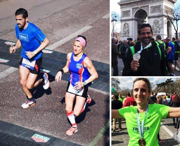 Marathon de Paris 2016 – Coup d'essai, coup de maître pour Amandine Ginouves !