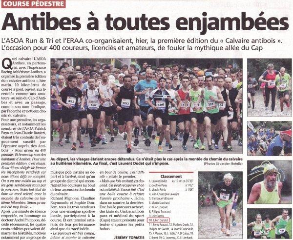 Antibes, Aix, Marseille, Haute-Savoie, Milan... L'ASPTT Nice sur tous les fronts (3 avril) !