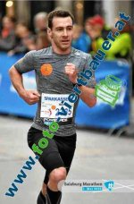 Alexis Gigant, 10ème du Semi-Marathon de Salzbourg 2016 (Autriche)