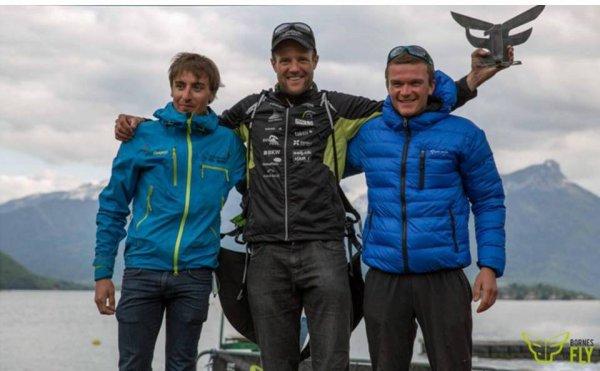 """""""Bornes to Fly"""" 2016 (Haute-Savoie) - La 3ème marche du podium pour Benoit Outters"""
