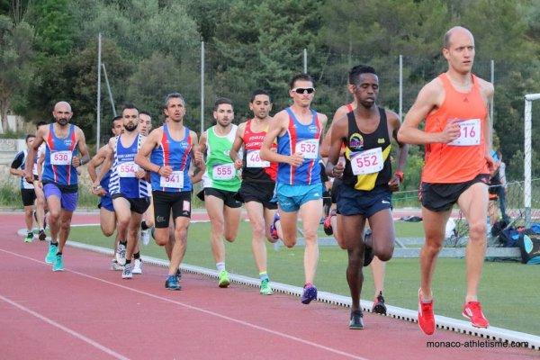 Les chronos ASPTT Nice de la soirée piste NCAA (Nice Côte d'Azur Athlétisme)