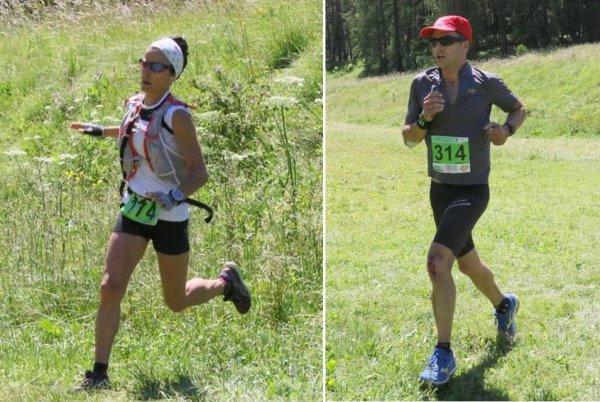La Colmiane 2016 – Amandine Ginouves survole le Trail, Amaury Dayrenx 2ème V1H Laurent Antoniucci 2ème V1H (Course des As)