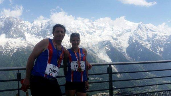Les courses du Marathon du Mont-Blanc 2016 - Chamonix