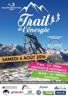 Trail de l'Energie 2016 - L'équipe féminine de l'ASPTT Nice en avait... de l'énergie !