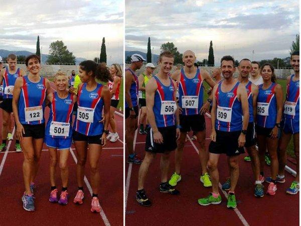 Soirée 10000 m et Heure Piste 2016 (Nice)