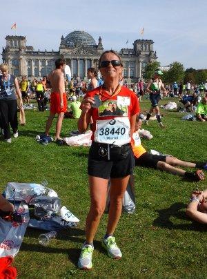 Marathon de Berlin 2016 - Bekele y était...Muriel aussi !