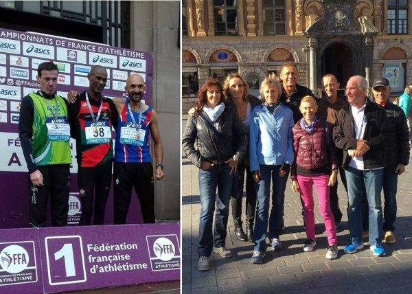 France de Semi-marathon 2016 - Médaille de Bronze pour Jean-Bernard Grondin (JB)