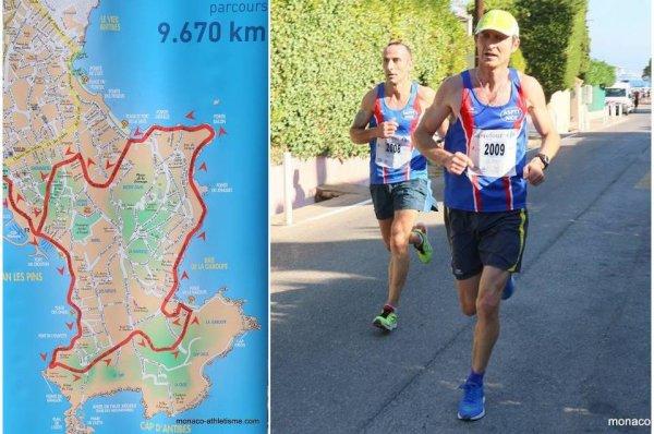 Courir pour une Fleur 2016 - Alexis Gigant 3ème sur 21,1 km, Hugues Plessis 5ème