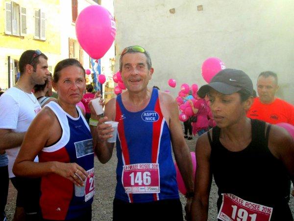 Foulée Rosée (Puget-sur-Argens) - 10 km pour aider la lutte contre le cancer du sein