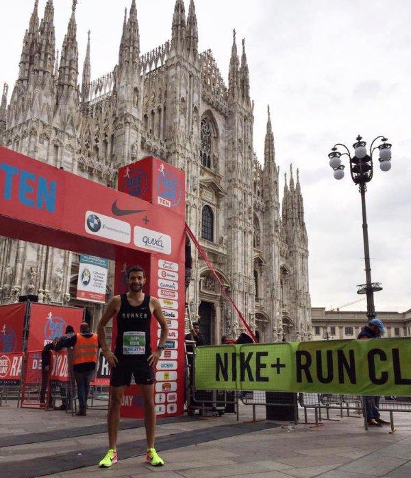 Deejay Ten Milano 2016 (10 km) - Nicolas Dalmasso 2ème scratch