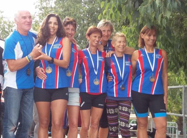 Régionaux d'Ekiden 2016 (Fayence - 83) - Le bronze pour les équipes de l'ASPTT Nice