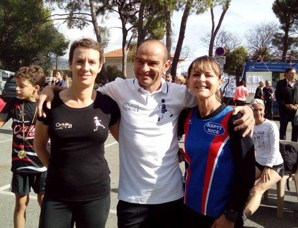 Grand Prix du Cavigal 2016 (Nice) - Michèle 2ème Féminine, Hugues 4ème Scratch