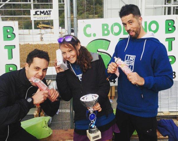 Trail du Soleil Levens 2016 (06) – Victoire de Daphné Ulmann sur 30 km