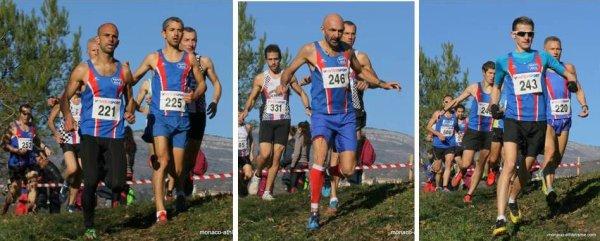 Départementaux de Cross 2016 (06) - Féminines et Masters de l'ASPTT Nice champions par équipe - Moez Ammar Champion Masters, Laurent Bermon Vice-Champion Masters