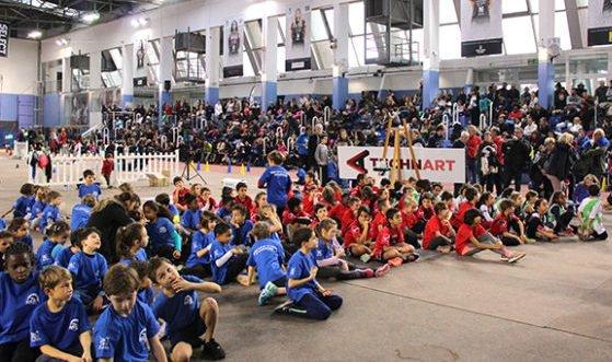 Premier Kids Athletics en salle de l'année 2017 (Nice) - L'ASPTT Nice aux manettes