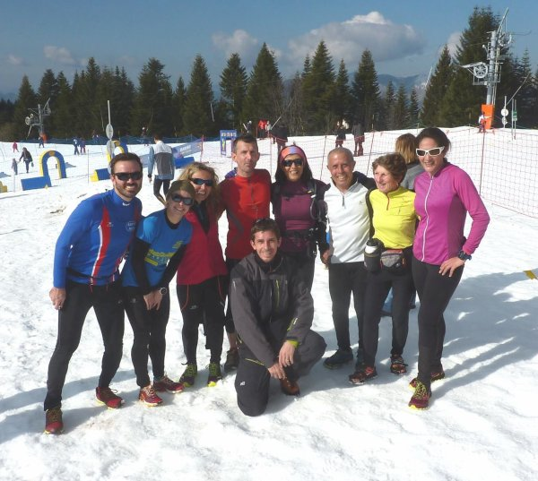 Snow Trail de Turini-Camp d'Argent 2016 – Clary, Jany et Sylvie en tête de leur catégorie