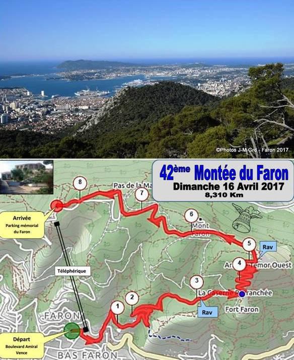 La Montée du Faron 2017 (Toulon, Var) en prélude de l'Ascension du Col de Vence...
