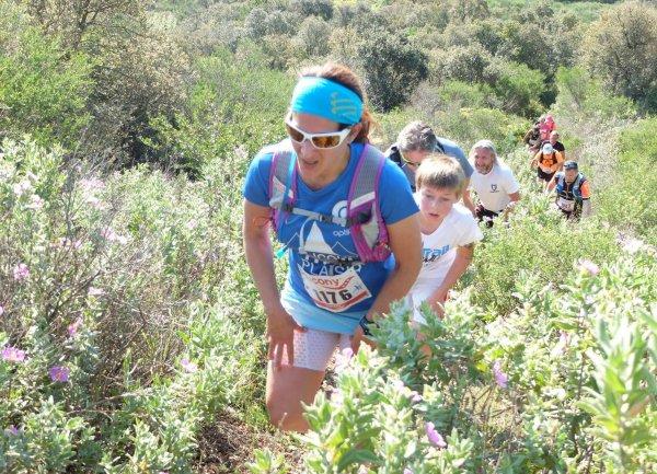 Trail de Moissac-Bellevue (Var) - Nadia Houara 1ère Féminine