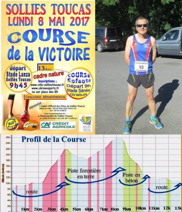 Course de la Victoire 2017 (Solliès-Toucas, Var)