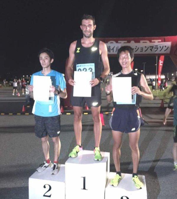 Victoire de Nicolas Dalmasso sur 10 km à Tokio (Japon)