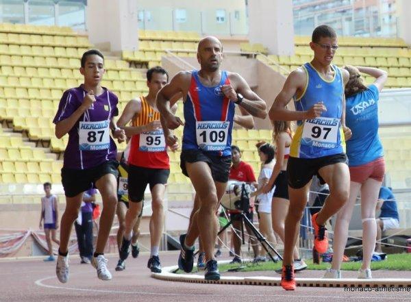 Régionaux PACA 2017 (Monaco) - Laurent Bermon Champion Master sur 5000 m
